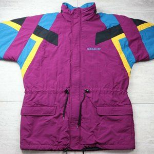 Women's Adidas Vintage 90's Windbreaker Jacket